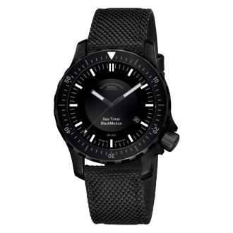MÜHLE-GLASHÜTTE - Sea-Timer Black Motion Watch M1-41-83-NB