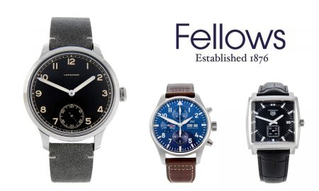 Auction News: 3 Modern Men's Watches to Invest in at Fellows Luxury Watch Auction on February 15th 2021
