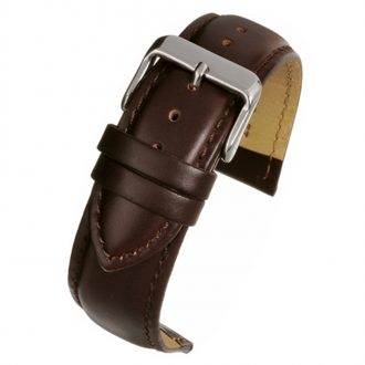 BECKETT Brown Calf Heavy Padded Leather Watch Strap W921