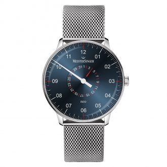 MEISTERSINGER - Neo Plus Pointer Date Bracelet Watch NED417