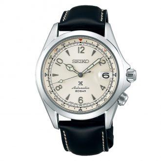 SEIKO PROSPEX - Alpinist Ivory Dial Compass Watch SPB119J1