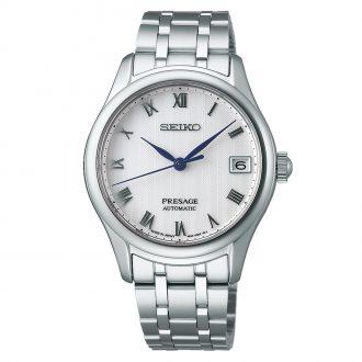 SEIKO PRESAGE - Japanese Zen Garden Women's White Dial Watch SRPF49J1
