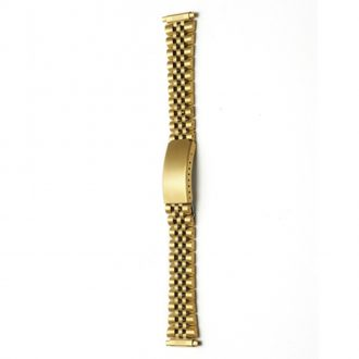 FRAMPTON Gold Tone Stainless Steel Watch Bracelet 1004