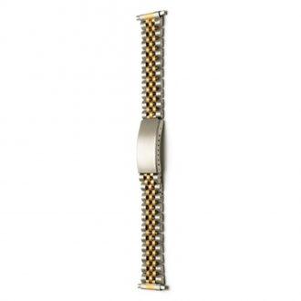FRAMPTON Two Tone Stainless Steel Watch Bracelet 1007