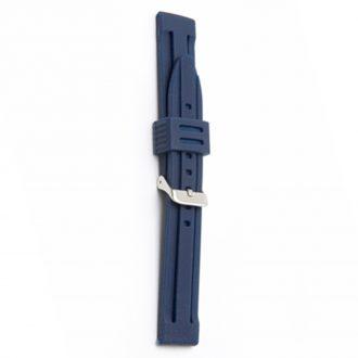 WATERLINE Blue Silicone Sports Active Watch Strap 8003