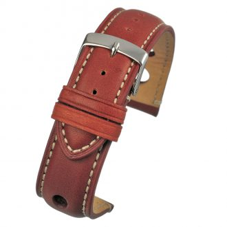 RALLY Tan Rally Style Leather Watch Strap WH621
