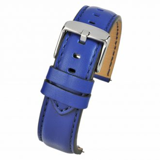 SOHO Blue Water Resistant Quick Release Leather Watch Strap WH683Q