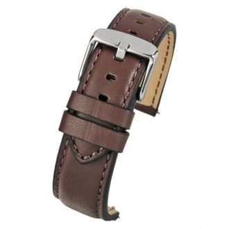 SOHO Brown Water Resistant Quick Release Leather Watch Strap WH685Q