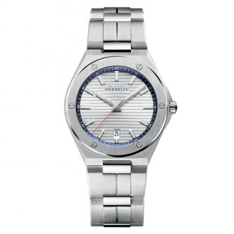 MICHEL HERBELIN - Cap Camarat Silver Dial Watch 12245/B42