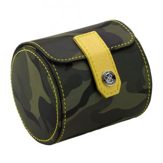 RAPPORT - Hunter Single Watch Roll in Green Camouflage Canvas D290