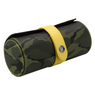 RAPPORT - Hunter Three Watch Roll in Green Camouflage Canvas D295