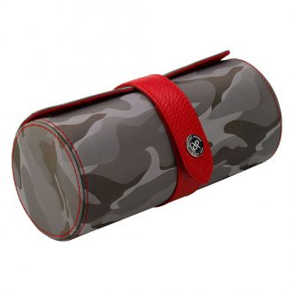 RAPPORT - Hunter Three Watch Roll in Grey Camouflage Canvas D297