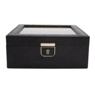 WOLF - Palermo 6 Piece Watch Storage Box in Anthracite 213802