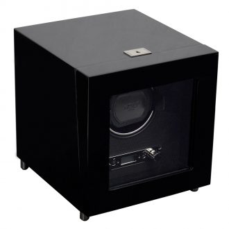 WOLF - Savoy Single Watch Winder in Black 454470