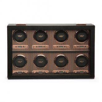 WOLF - Axis 8 Piece Watch Winder in Copper 469716