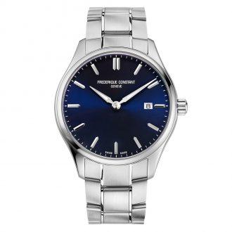 FREDERIQUE CONSTANT - Classics Quartz Blue Dial Bracelet Watch FC-220NS5B6B
