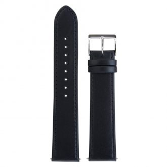 JUNGHANS - Black Max Bill Leather Strap 20mm 420504850