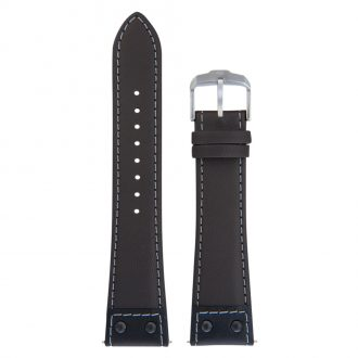 JUNGHANS - Brown Meister Pilot 22mm Leather Strap 420506389