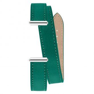 MICHEL HERBELIN - Antarès Strap Avocado Green Wrap Around BRAC.17048.63/A