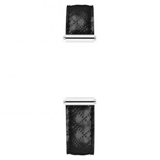 MICHEL HERBELIN - Antarès Strap Black Quilt Pattern Leather BRAC.17048.49/A