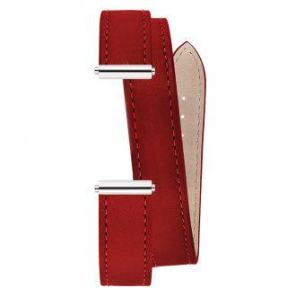 MICHEL HERBELIN - Antarès Strap Chilli Red Wrap Around BRAC.17048.61/A