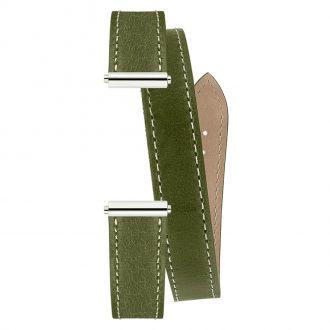 MICHEL HERBELIN - Antarès Strap Moss Green Wrap Around BRAC.17048.69/A