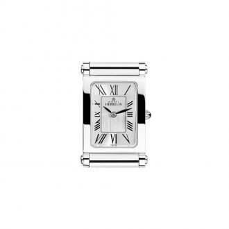 MICHEL HERBELIN - Antarès Rectangular Steel Customisable Watch H.17048/01