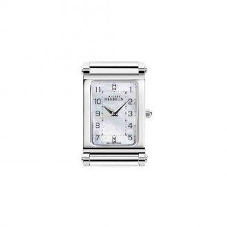 MICHEL HERBELIN - Antarès Rectangular Steel Customisable Watch H.17048/29