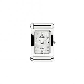 MICHEL HERBELIN - Antarès Rectangular Steel Customisable Watch H.17048/89