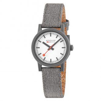 MONDAINE - Essence Grey 32mm Sustainable Watch MS1.32110.LU