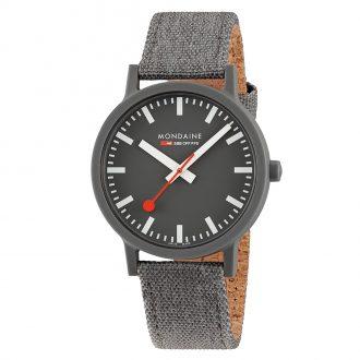 MONDAINE - Essence Grey 41mm Sustainable Watch MS1.41180.LH