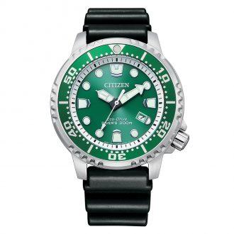 CITIZEN - Promaster Green Dial 200m Divers Watch BN0158-18X