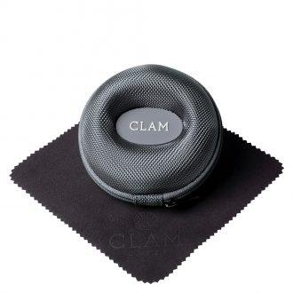 CLAM - Single Watch Travel Case Steel Grey CLAMGREY