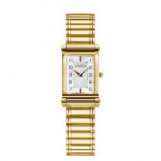 MICHEL HERBELIN - Antarès Gold Tone Roller Bracelet Combination COM.17048/P28.B.17443/P