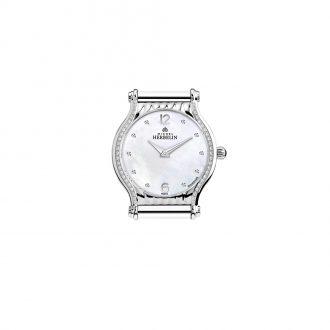MICHEL HERBELIN - Antarès Round Diamond Set Customisable Watch H.17447/46Y89