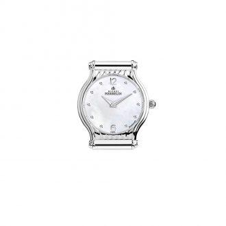 MICHEL HERBELIN - Antarès Round Steel Customisable Watch H.17447/89