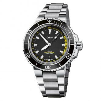 ORIS - Aquis Depth Gauge Diver's Watch 0173377554154-SetMB