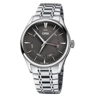 ORIS - Artelier Pointer Day Date Grey Dial Watch 0175577424053-0782188