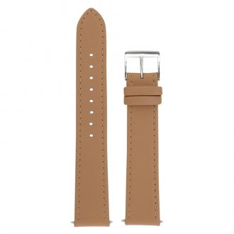 JUNGHANS - Light Sand Max Bill Leather Strap 18mm 420504399