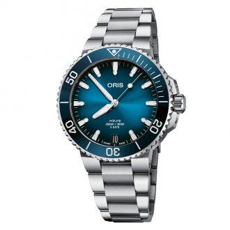 ORIS - Aquis Date Calibre 400 41.5mm Watch - 0140077694135-0782209PEB