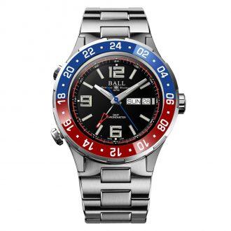 BALL - Roadmaster Marine GMT Ceramic Pepsi Bezel Watch DG3030B-S4C-BK