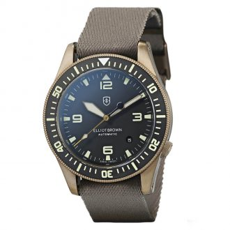 ELLIOT BROWN - Holton Automatic Bronze PVD Watch 101-A12-N10