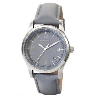 ELLIOT BROWN - Kimmeridge 38mm Grey Dial & Strap Watch 405-004-L56