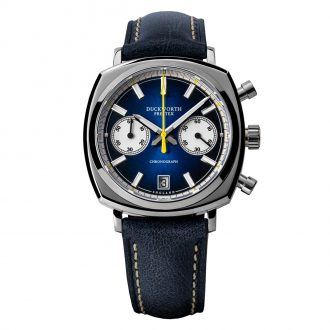 DUCKWORTH PRESTEX - Blue Dial Quartz Chronograph 42mm D550-03