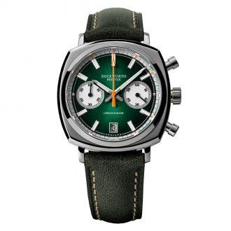 DUCKWORTH PRESTEX - Green Dial Quartz Chronograph 42mm D550-04
