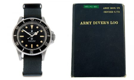 Auction News: Rolex Military Submariner Issued to British Army Diver Could Fetch Tens of Thousands