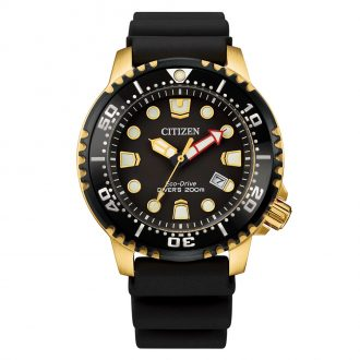 CITIZEN - Promaster Black Dial 200m Divers Watch BN0152-06E