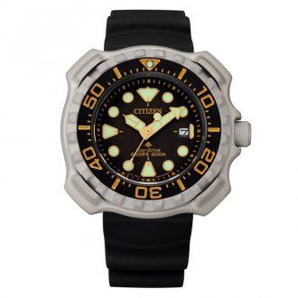 CITIZEN - Promaster Diver Super Titanium Gold and Black BN0220-16E