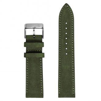 DUCKWORTH PRESTEX - Birch Green Suede Italian Leather Watch Strap 20mm DPBGS20