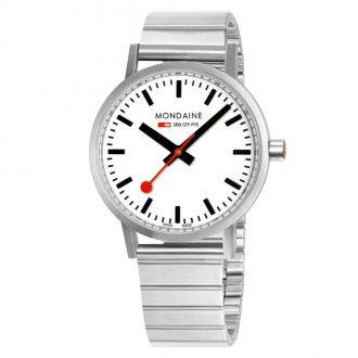 MONDAINE - Classic 40mm Bracelet Watch A660.30360.16SBJ